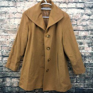 Button up Pea Coat by Anne Klein Womens Size Small